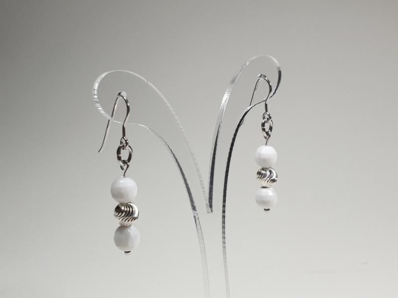 handmade earrings lavriostone E60